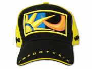 Moto GP Rossi paddock cap sun/moon black/yellow VRMCA50401